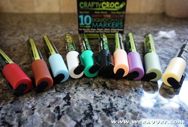 craftycroc liquid chalk markers review