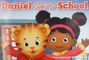 Daniel Tiger Goes to School! #Backtoschool