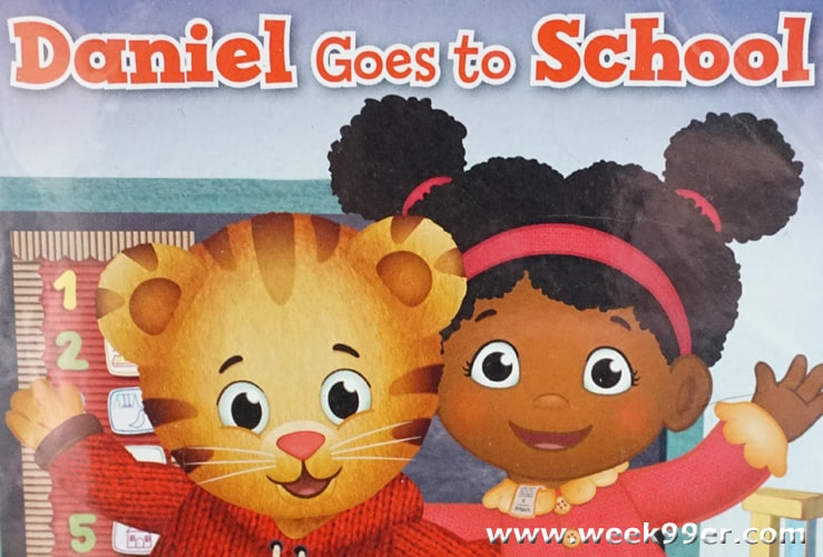 daniel Tiger goes to school review