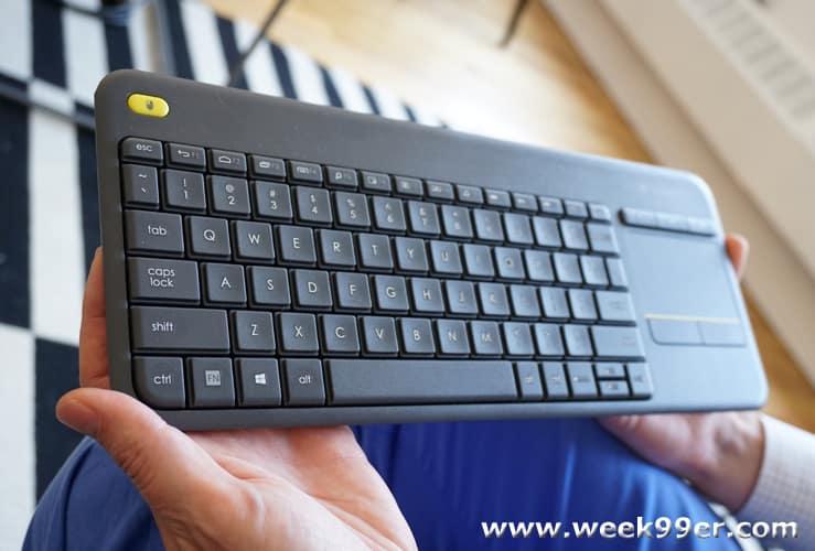 logitech k400 plus review