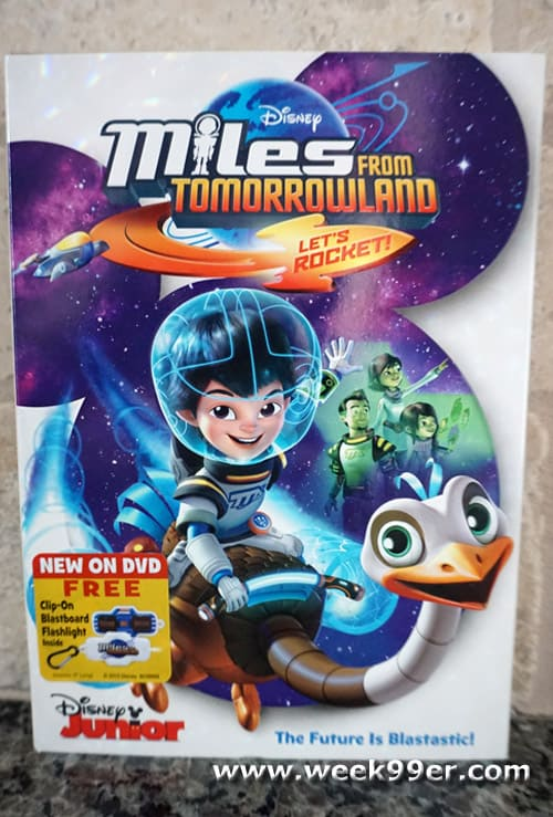 miles from tomorrowland let's rocket review