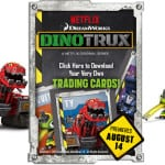 DinoTrux Printable Trading Cards + Sneak Preview! #DinoTrux