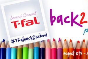 Enter the T-fal Back to School Giveaway! #Tfalback2school