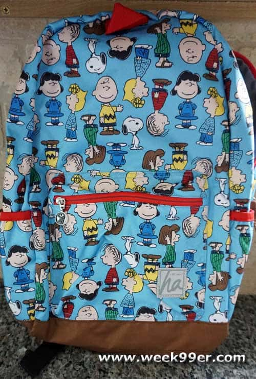 Hanna andersson peanuts backpack review