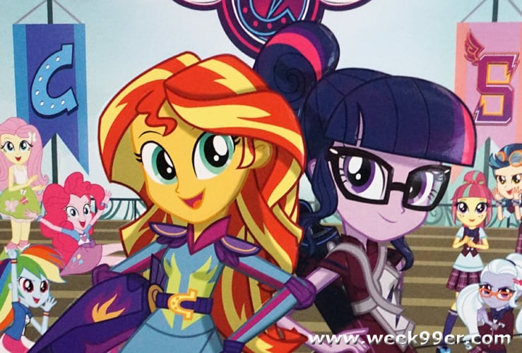 equestria girls friendship games review