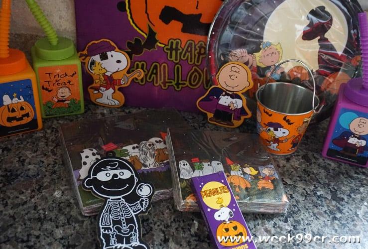 Peanuts Holiday items Oriental Trading