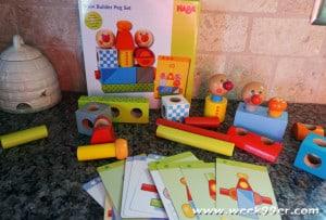 haba brain builder peg set review