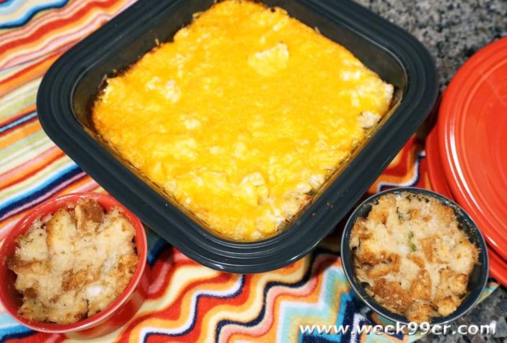 Quick Stuffing Pots Recipe
