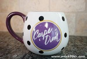 Snuggle Up with the Carpe Diem Mug from Papryrus