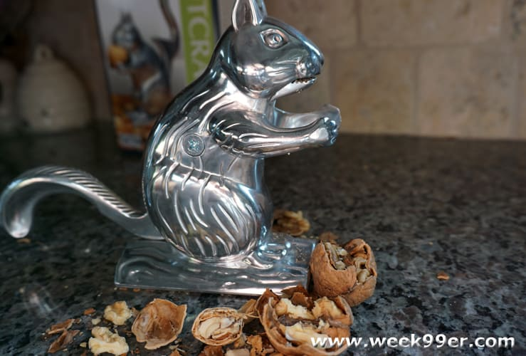 Get to the good stuff with the nutty squirrel nutcracker Nutcracker squirrel