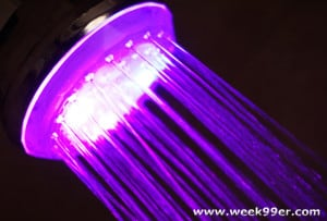 Light Up Your Shower with the Shower Wow