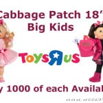 "New Limited Edition Cabbage Patch Big Kids only at Toys ""R"" Us"