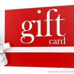 Finish Your Last Minute Gift List with Gift Cards!
