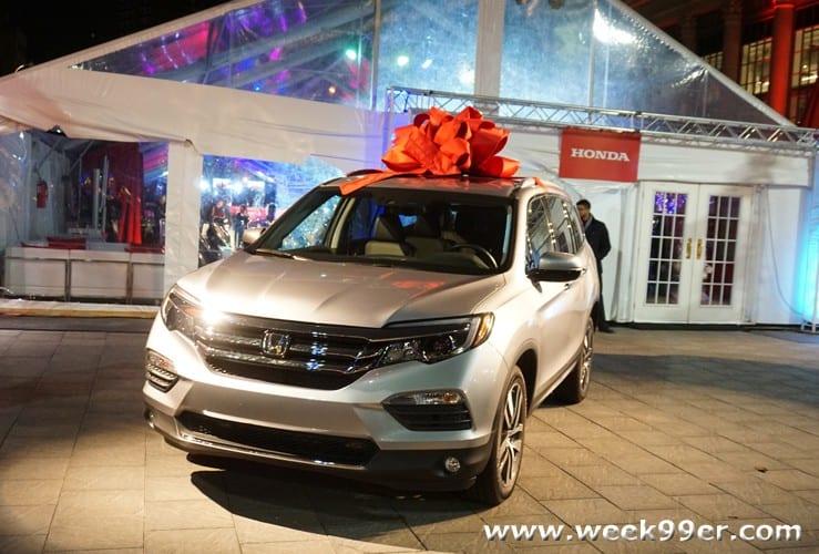 Honda Holiday Event