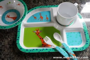 Lassig Brings Giraffes to Their New Plate Sets