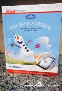Disney Imagicademy Frozen Book Review