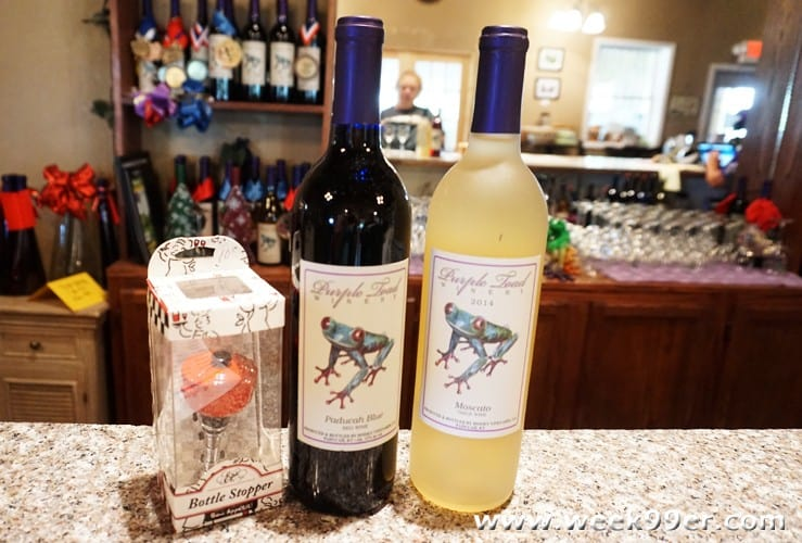 Purple toad winery award winning wines in the heart of for Purple wine bottles for sale