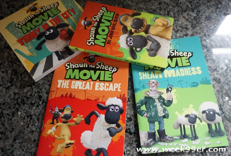 shaun the sheep books