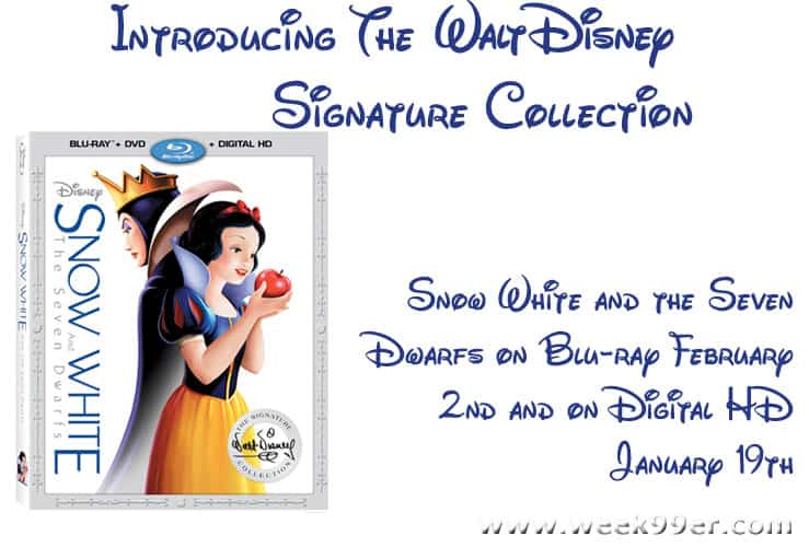 snow white signature collection release