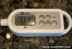 proaccurate waterproof thermometer review