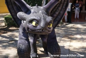 toothless at dreamworks