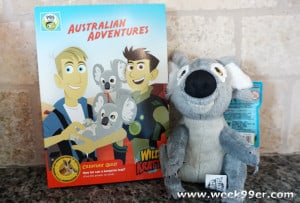 Wild Kratts: Australian Adventures Comes to DVD!