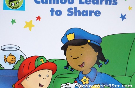 Caillou Helps Teach Sharing and Taking Turns in new DVD