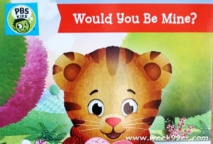 Daniel Tiger Wants to be Your Valentine in this new DVD from PBS Kids
