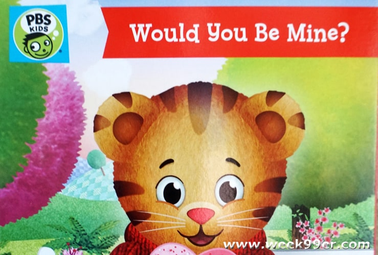 Daniel Tiger Wants to be Your Valentine in this new DVD from ...
