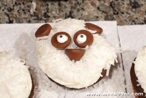 Easy Panda Cupcakes #kungfupanda
