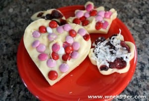 Valentine's Candy Bark Recipe