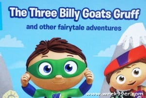 Super Why takes on Fairytales in their New Collection