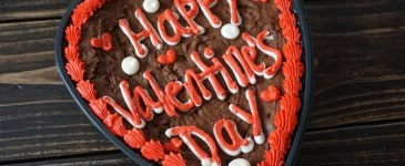Surprise Your Valentine with a Brownie Heart Cake