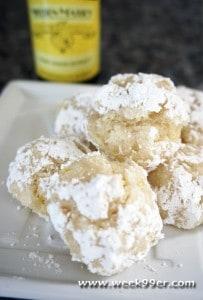 lemon crackle cookie recipe