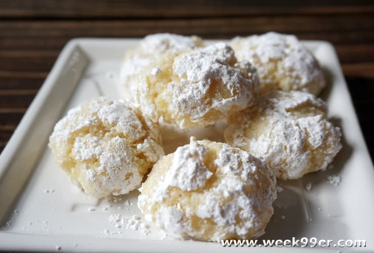 Lemon Crackle Cookie Recipe Nmvcakes