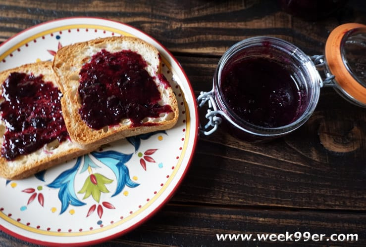 Blueberry Honey Jam Recipe