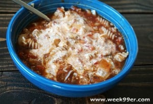 slow cooker lasagna soup recipe gluten free