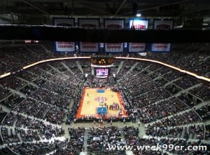 An Evening of Entertainment and Fun with the Detroit #Pistons