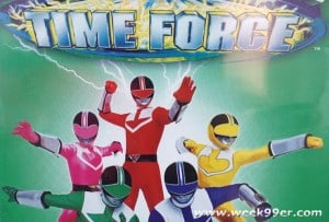 Own All 40 Episodes of Power Rangers Time Force