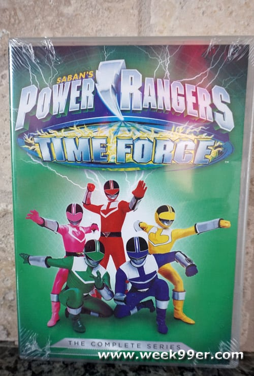 power rangers time force complete series review