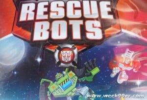 Rescue Bots Adventures in Time and Space Goes Farther than Ever Before
