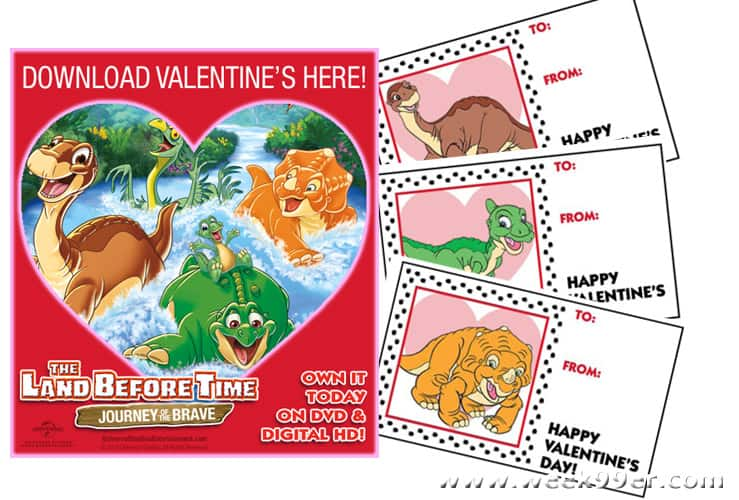 land before time valentine's