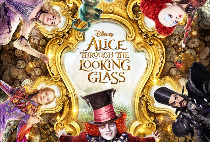 disney alice through the looking glass preview