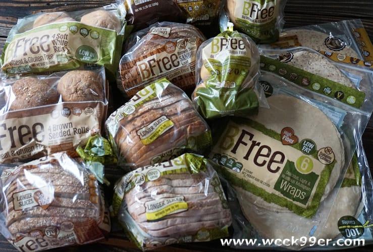 bfree gluten free bread review