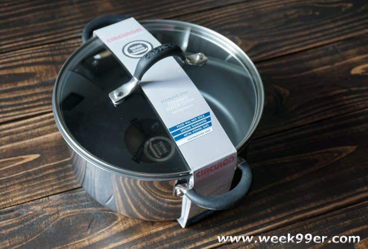 Circulom Momentum Stainless Steel Cookware review