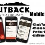 Pay Your Bill and Choose Your Steaks with the New Outback Mobile App + Giveaway