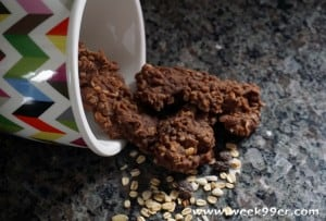 Chocolate Muesli No Bake Cookies Recipe