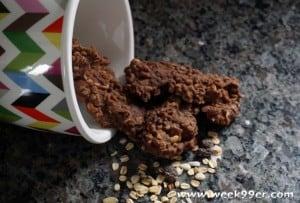 chocolate muesli no bake cookie recipe