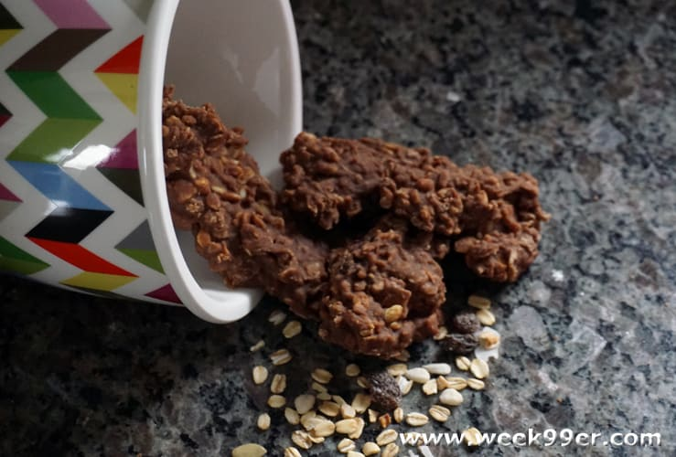 Chocolate Muesli No Bake Cookies Recipe