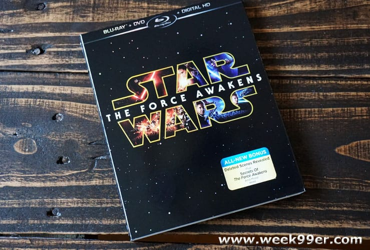 starwars the force awakens blu-ray review